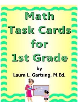 Task Cards for 1st grade Math