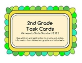 Tables, Bar Graphs & Tally Charts - Task Cards Math, MN st