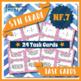 5th Grade Fraction Task Cards 5NF: ALL NF Task Cards Fract