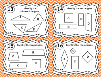 5th Grade Geometry Task Cards 5.G Bundle: ALL Geometry Task Cards Fifth Grade, G