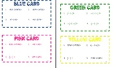 Task Cards for Adding and Subtracting Rational Numbers