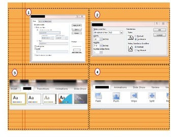 Task Cards for An Introduction to Microsoft Power Point 2010