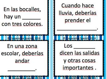Task Cards for Así Se Dice Carros (Cars) Vocabulary 1