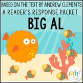 Big Al by Andrew Clements Reader's Response Packet