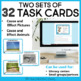 Two Sets of Task Cards for Cause and Effect for 3rd - 5th Grade