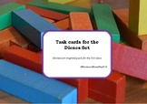 Task Cards for Dienes Set (Montessori Style Attribute Work)