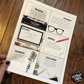 editing revision kit checklist activity task cards by editing revision kit checklist activity