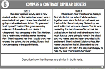 Task Cards for Fiction (4th-5th Grade)