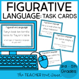 Task Cards for Figurative Language for 4th - 5th Grade
