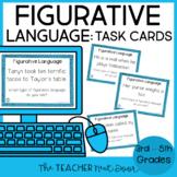 Figurative Language Task Cards | Figurative Language Centers