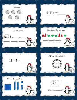Task Cards for First Grade Math