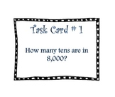 Task Cards for Fourth Grade Common Core Math NBT1