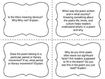 Task Cards for Independent Reading Bundle