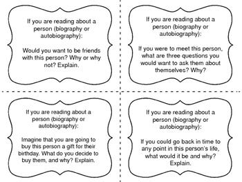 Task Cards for Independent Reading: Non-Fiction Set