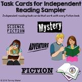 Task Cards for Independent Reading Sampler
