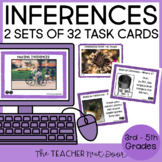 Making Inferences Task Cards with Informational Text 2nd -