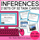 Making Inferences Task Cards: Literature 2nd - 5th Grade |