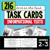 Task Cards for Informational Text (2nd-3rd Grade)