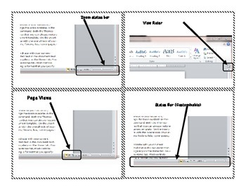 Task Cards for Learning Microsoft Word 2010