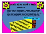 Task Cards for Main Idea
