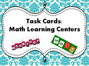 Task Cards for Math Learning Centers