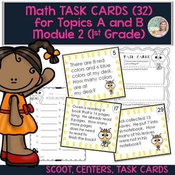 Task Cards for Module 2 Topics A and B