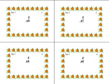 Task Cards for Multiplication and Division Practice Grade 3-Halloween Theme