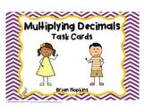 Task Cards for Multiplying Decimals