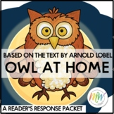 Owl at Home Guided Reading Response Packet