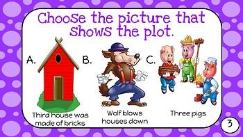 Task Cards for Plickers- Kindergarten- Reading Street Unit 3