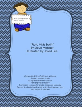 """Task Cards for """"Pluto Visits Earth"""""""