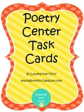 Task Cards for Poetry Centers