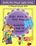 Task Cards for Pre Primer Sight Words