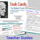 Task Cards for Reading 3 Robert Frost Poems