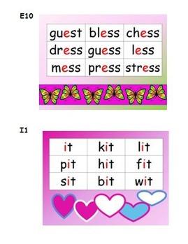Task Cards for Short Vowels