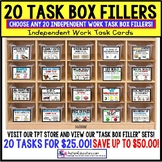 Task Cards for Special Education CUSTOM DISCOUNT BUNDLE Di