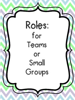 Task Cards for Teamwork or Cooperative Groups (ENGLISH AND SPANISH)