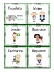Task Cards for Teamwork or Cooperative Groups (ENGLISH AND