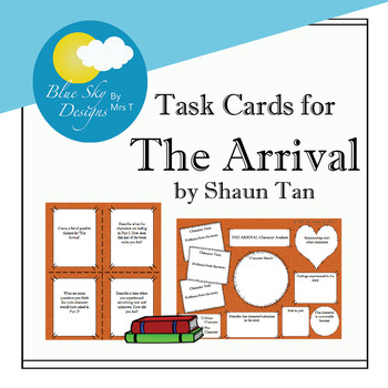 Task Cards for 'The Arrival' by Shaun Tan