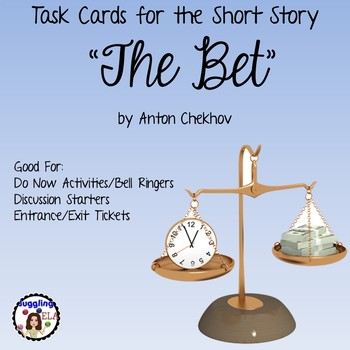 "Task Cards for ""The Bet"" by Anton Chekhov"