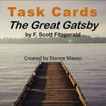 The Great Gatsby Task Cards