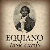 """Task Cards for """"The Interesting Narrative of the Life of Olaudah Equiano"""""""