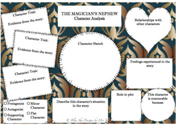 Task Cards for The Magician's Nephew by C. S. Lewis
