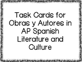 Task Cards for Works and Authors in AP Spanish Literature and Culture