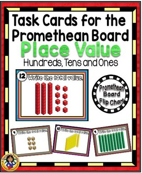 Task Cards for the Promethean Board ~ Place Value