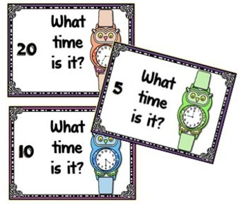 Task Cards for the Promethean Board ~ Telling Time