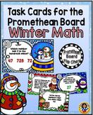 Task Cards for the Promethean Board ~ Winter Math