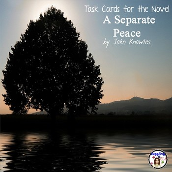 Task Cards for the novel A Separate Peace by John Knowles