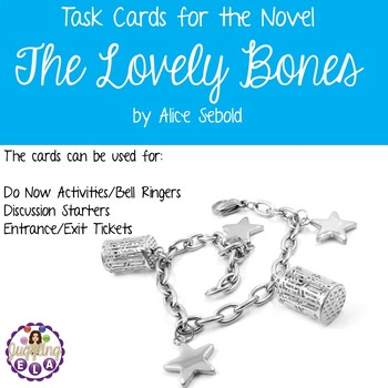 Task Cards for the Novel The Lovely Bones by Alice Sebold