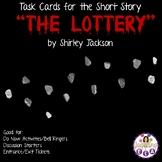 "Task Cards for the Short Story ""The Lottery"" by Shirley Jackson"